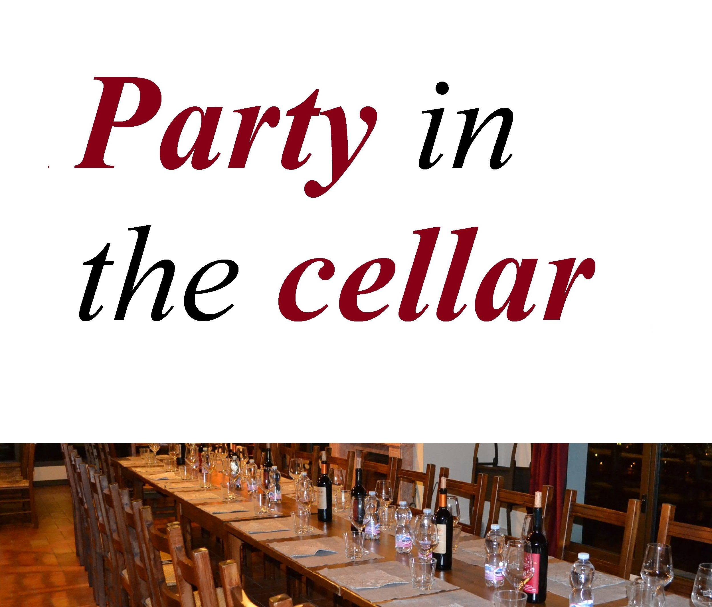 Party in the cellar