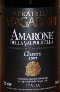 Amarone della Valpolicella Classico