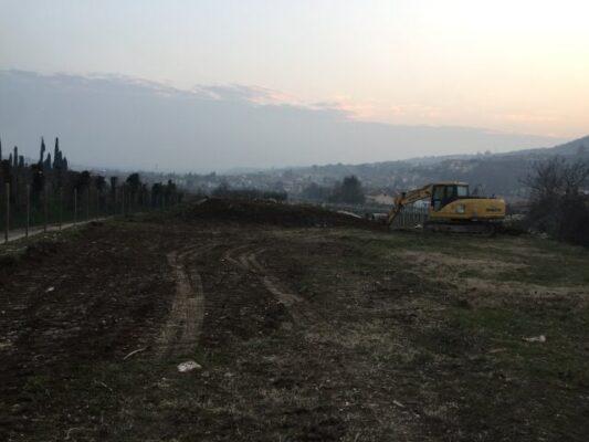 The archeologic site in Negrar