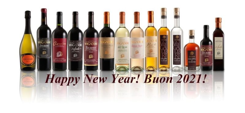 Happy New Year 2021 with Valpolicella wines